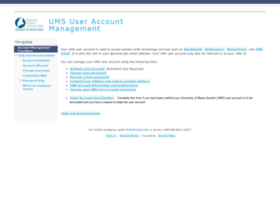 accounts.maine.edu