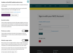 accounts.nice.org.uk