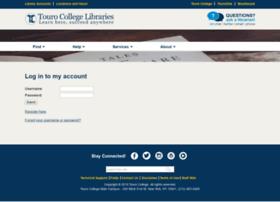 accounts.tourolib.org