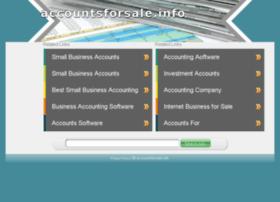 accountsforsale.info
