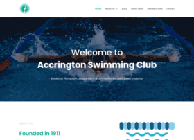 accringtonswimmingclub.co.uk