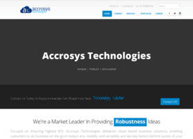 accrosystechnologies.co.in