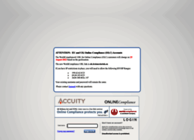 accuity.worldcompliance.com