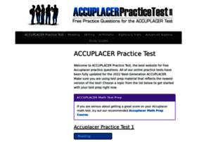 accuplacerpracticetest.com