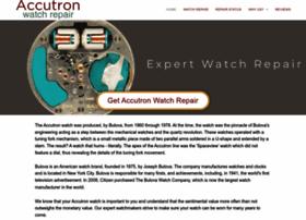 accutronwatchrepair.net