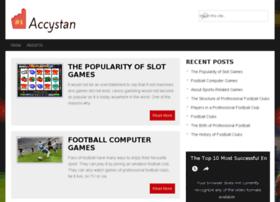 accystan.co.uk