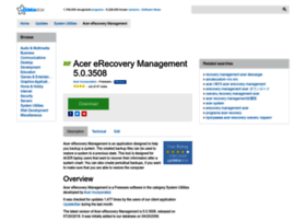 acer-erecovery-management.updatestar.com