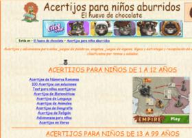 acertijos.elhuevodechocolate.com