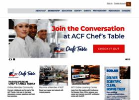 acfchefs.org
