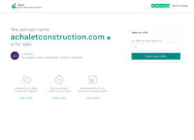 achaletconstruction.com