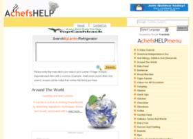 achefshelp.net