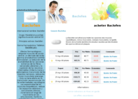 acheterbaclofenenligne.com