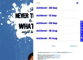 achieve.sandeepmanudhane.org