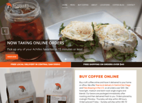 achillescoffeeroasters.com