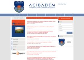 acibadem.dergisi.org