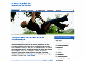 acides-amines.com