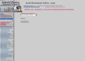 acidresistantvalve.com