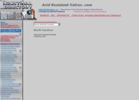 acidresistantvalves.com