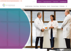 ackermancancercenter.com