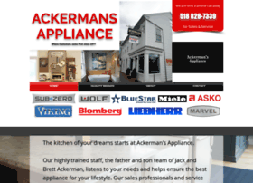 ackermansappliance.net
