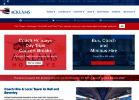 acklamscoaches.co.uk