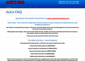 acksfaq.com