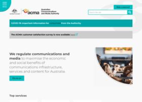 acma.gov.au
