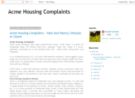 acme-housing-complaints-mumbai.blogspot.in