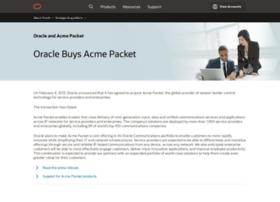 acmepacket.com