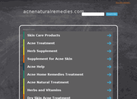 acnenaturalremedies.com