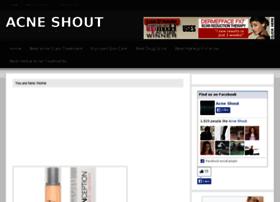 acneshout.com