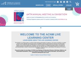 acnm.sclivelearningcenter.com