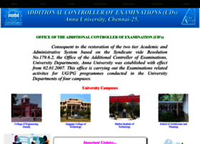 acoe.annauniv.edu