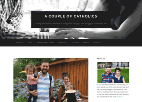 acoupleofcatholics.com