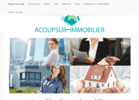 acoupsur-immobilier.com