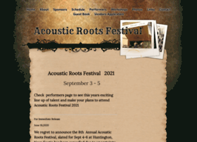 acousticrootsfestival.com