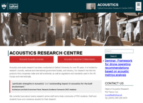 acoustics.salford.ac.uk