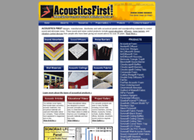 acousticsfirst.com