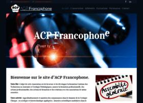 acpfrancophone.fr