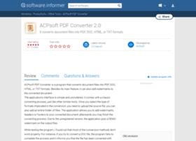 acpsoft-pdf-converter.software.informer.com