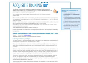 acquisitietraining.net