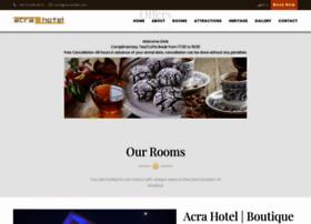 acrahotel.com