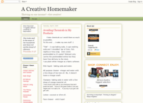 acreativehomemaker.blogspot.com