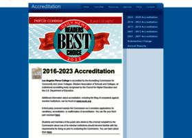 acred.piercecollege.edu