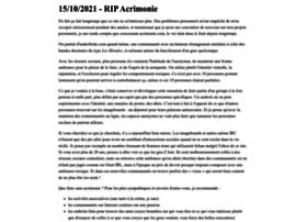 acrimonie.com