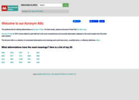 acronymattic.com
