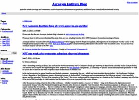 acronyminstitute.wordpress.com