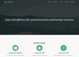 acrosync.com