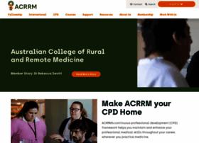 acrrm.org.au