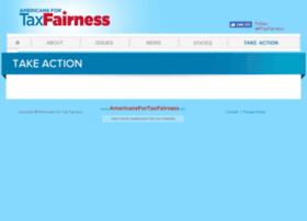 act.americansfortaxfairness.org